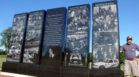 Indiana Police Memorial