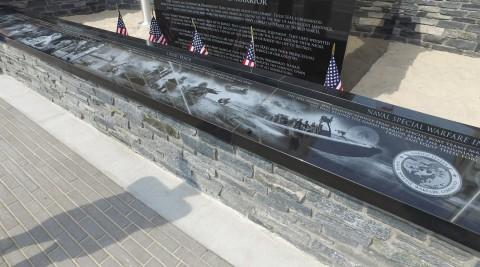 navy wall