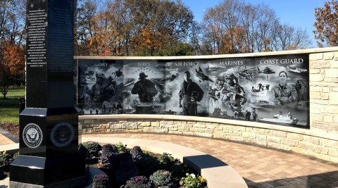 Springboro Ohio Veteran Memorial